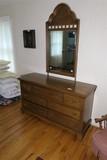 Vintage Penn Colony Broyhill Dresser w/mirror