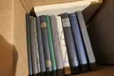 Box of Old Yearbooks