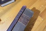 2 Antique Pharmacy Recipe Formula Books