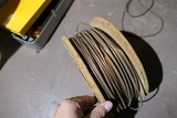 Heavy spool of copper wire