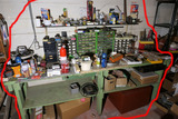 Workbench contents lot.