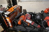 Shelf Lot of Electric Tools