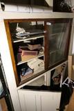 Cabinet contents lot