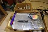 Assorted painting, caulking etc tool lot