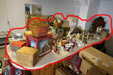 Very Large Lot Christmas village items