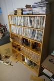 Large Wooden Shelf unit