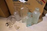 Group lot of Assorted Antique Bottles