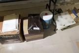 Misc. Lot items undertable inc. rocks, minerals