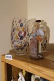 Murano Glass Lot - Jar, pitcher, Clown