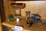 Group of mis items Inc. paperweight