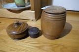 Group Lot of Antique Wooden Treenware
