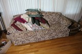 Upholstered Charles Schneider couch