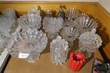 Large collection EAPG  broken column glassware