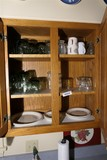 Lot contents 2 cupboards