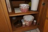 Cupboard contents lot - popcorn