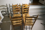 Group of 4 Vintage Shaker Style Chairs