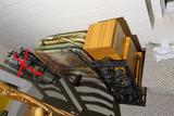 TV Trays, decorative boxes, wall art lot