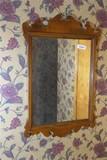 Queen Anne Antique Mirror