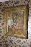 Nice Antique Signed Painting in Frame