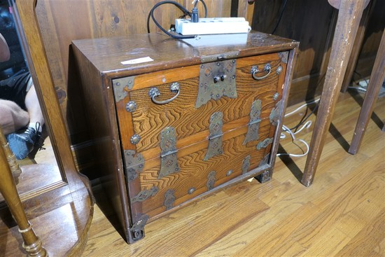Vintage Chinese style cabinet or box
