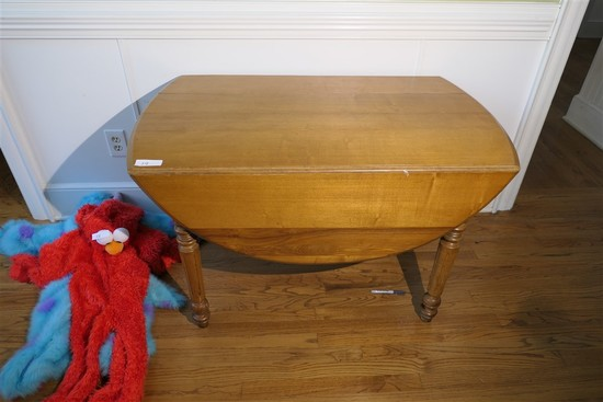 Antique Oak drop leaf table