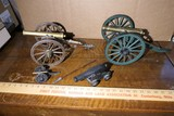 Group Lot of Model or Toy Cannons