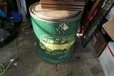 Vintage Pittsburgh Moving Barrel