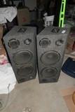 Pair of Monitor or Floor Speakers