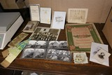 Group Lot Assorted Photos, Paper, Stereoview cards