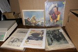 Group Lot assorted Paper, Roy Rogers etc