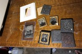 Group Lot Ambrotypes, Tintypes etc + cases