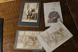 Group lot of 4 better Antique photographs