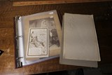 Large Qty Old Photos, paper in binder
