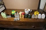 Group lot assorted vintage salt & pepper shakers