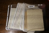 Large Lot Assorted Antique Documents, Letters