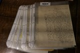 Large lot of Civil War pay documents, letters etc