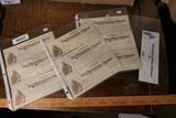 Large Lot Rare Civil War Paychecks