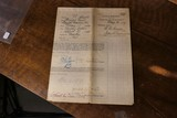Very Large Civil War Document Hospital Muster