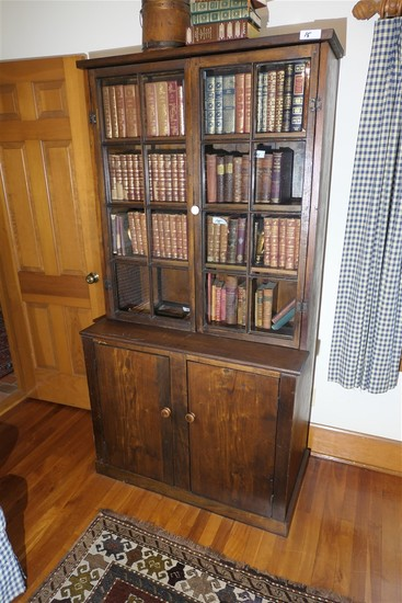 Antique One Piece Bookcase