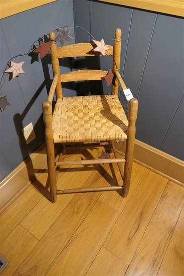 Small antique child's chair