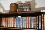 Large Lot Nicely Leather Bound Books