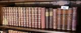 Single Shelf Lot Antique Books