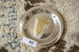 Sterling Silver Franklin Mint Plate 354g