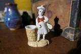Rare Made in Germany Tennis Player Toothpick holder