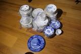 Ceramics Mixed Lot China, flow blue etc