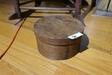Antique Banded Box Signed by Maker
