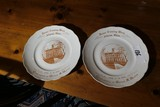 2 Rare 1904 Ohio University Homecoming Plates