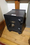Antique Small Lazarus Safe