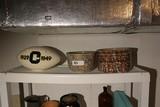 Spongeware, Ohio University Ceramic Pieces