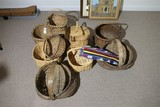Large Lot of Early Antique Baskets